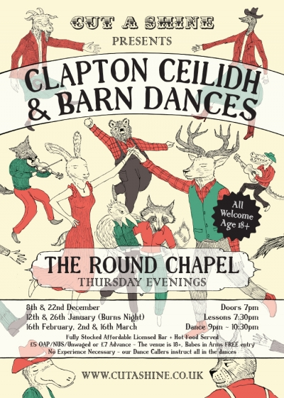 Clapton Ceilidh and Barn Dances