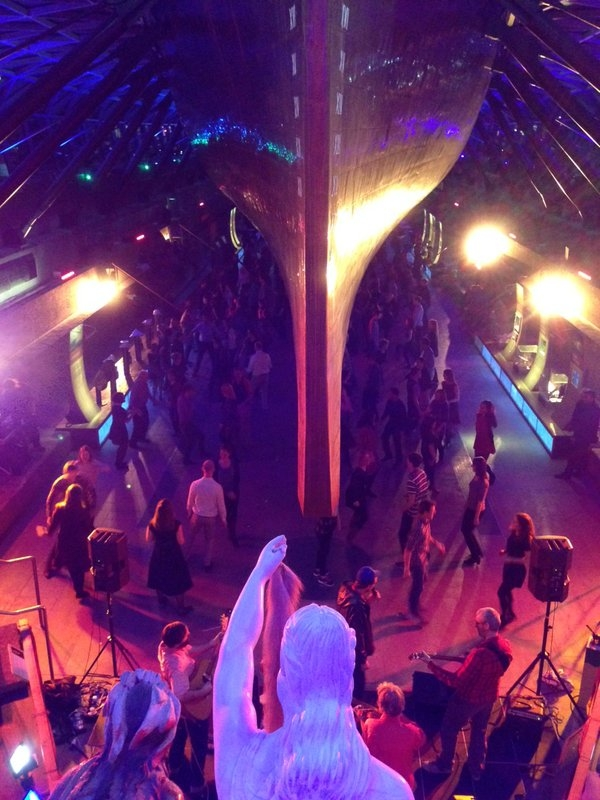 Ceilidh aboard the Cutty Sark
